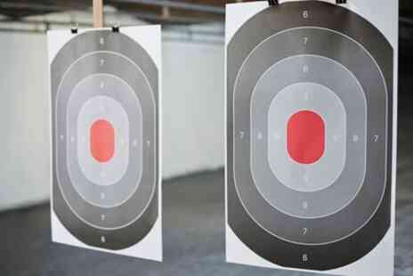 Clay Target Events - Choice of  Rifle, Pistol, or Deluxe Shooting Experience for Up to Four - Save 34%