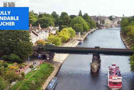 City Cruises York - Sightseeing river cruise in York - Save 33%