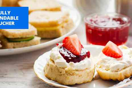 The Fox & Hounds Country House Hotel - Afternoon tea for 2 at former coaching inn - Save 46%
