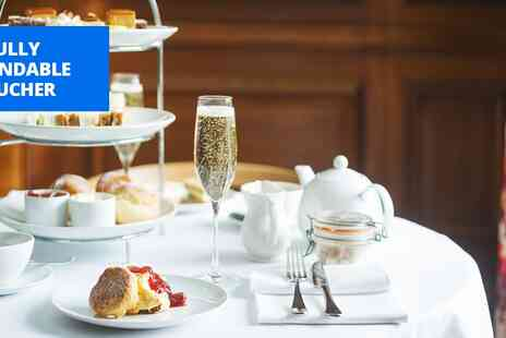 Cowley Manor - Sparkling afternoon tea for 2 - Save 41%