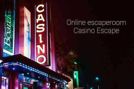 Casino Escape - Online escape game for up to six people - Save 54%