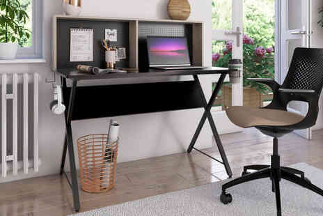 Envisage Home - Hutch computer desk - Save 75%
