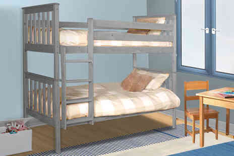 UK Furniture 4 U - Wooden bunk bed frame - Save 56%