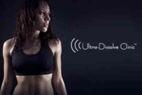 Ultra Dissolve Clinic - Three Laser Lipolysis Sessions Plus Vibro Plates - Save 87%