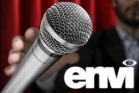 Envi - Comedy Night For Two With Buffet and Wine - Save 60%
