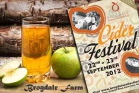 Brogdale Collections -  Family Cider Festival Ticket With Childrens Activities - Save 50%