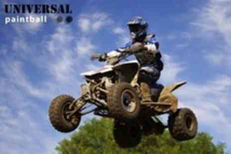 Universal Paintball - All Terrain Quad Biking Experience For One - Save 67%