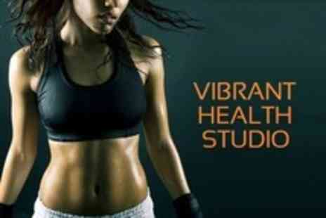 Vibrant Health Studio - Six Vibration Training Sessions - Save 68%