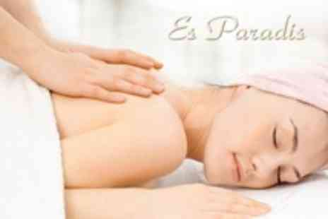 Es Paradis - Full Body Massage, Facial and Manicure Package - Save 75%