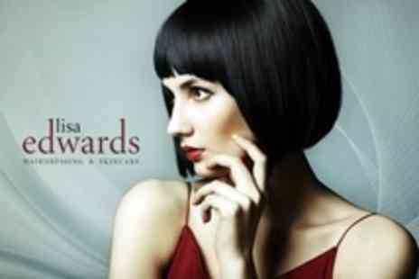 Lisa Edwards - Cut and Blow Dry Plus Conditioning Treatment - Save 67%