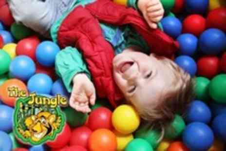 The Jungle - Soft Play For Two  or Four Children With Drink Each - Save 52%