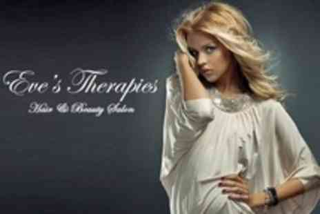 Eves Therapies - Pamper Package Wash, Cut and Blow Dry Plus Nail Shape and Paint - Save 45%