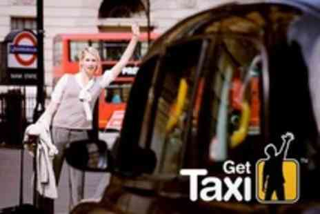 GetTaxi - Black Cab Journeys in London - Save 80%