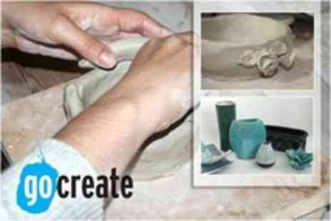 Go Create - Introduction to Hand Built Ceramic Making For One or Two - Save 72%