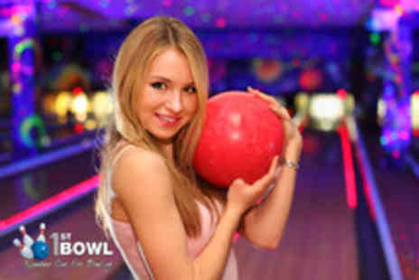 1st Bowl & Lakeside Superbowl -  2 tenpin bowling games for up to 4 people - Save 63%