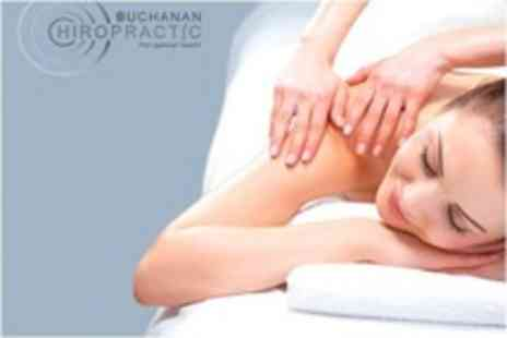 Buchanan Chiropractic - One Hour Full Body Massage or Reflexology Therapy - Save 66%