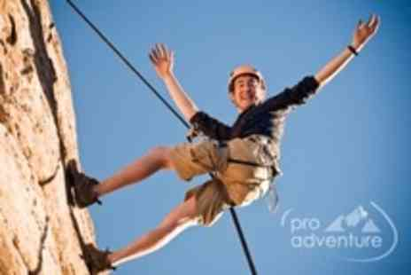 ProAdventure Activities - Outdoor Abseiling For Two - Save 61%
