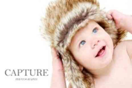 Capture Photographic Studio - One Hour Family or Baby Photo Shoot Session - Save 82%