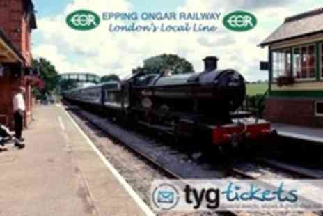 Epping Ongar Railway - Family Epping Ongar Railway Ticket With Unlimited Heritage Train and Bus Rides - Save 51%