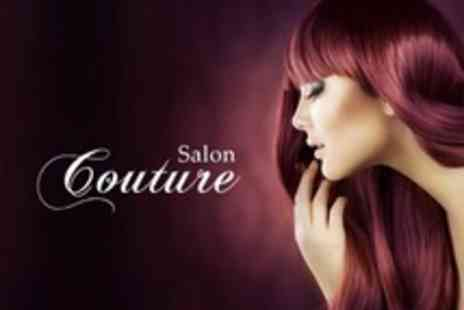 Salon Couture - Wash, Cut, Restyle, Finish and Full Head of Colour Using LOreal INOA Ammonia Free Dye - Save 57%