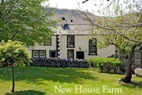 New House Farm -  Overnight Stay For Two in Luxury Guesthouse With Afternoon Tea on Arrival - Save 57%
