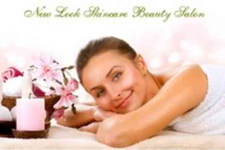 New Look Skincare Beauty Salon - Two Beauty Treatments Such as Shellac Manicure and Hot Stone Massage - Save 76%