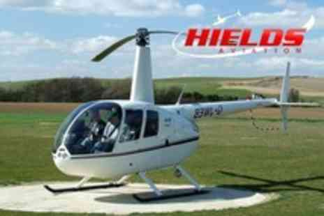 Hields Aviation - Helicopter Flight Over the Surrounding Countryside - Save 64%