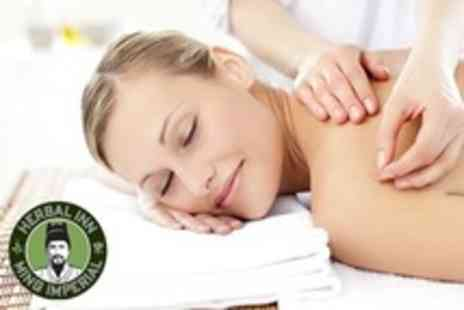 Herbal Inn - Thirty Minute Massage and Fourty Five Minute Acupuncture Facial - Save 65%
