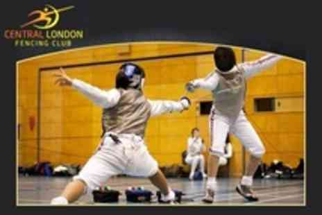 Central London Fencing Club - Two Hour Fencing Taster Session - Save 50%