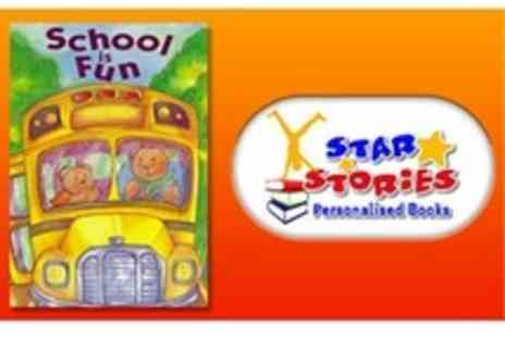 Star Stories - Personalised Back to School story book for boys or girls - Save 50%