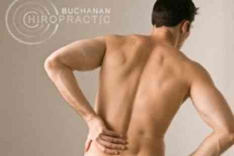 Buchanan Chiropractic - Three Chiropractic Sessions Plus Consultation and Workshop - Save 5%