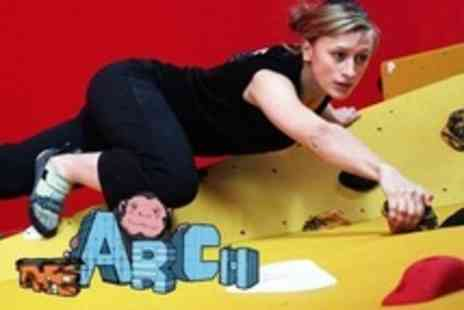 The Arch - Full Day Indoor Climbing - Save 70%