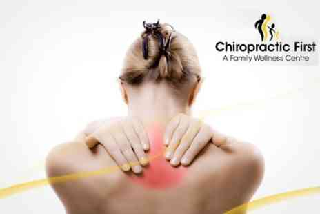 Chiropractic First - Three Chiropractic Sessions Plus Spinal Health Class - Save 69%