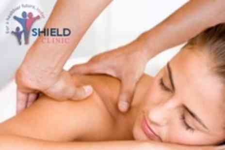 Shield Clinic - Two Deep Tissue Massages - Save 60%