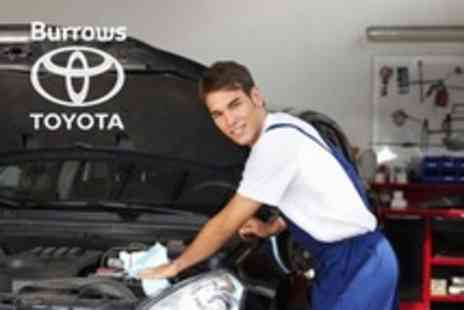 Burrows Toyota - Full 54 Point Car Service With Oil and Filter Change Plus Wash - Save 74%