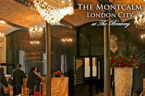 The Montcalm London City - One Night Stay For Two With Breakfast - Save 63%