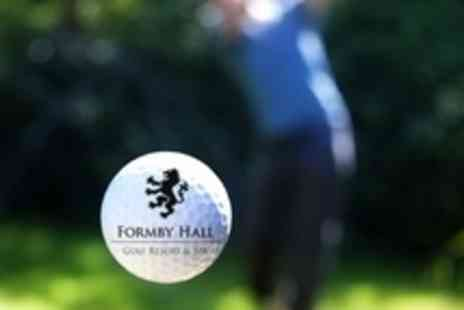 Formby Hall Golf Resort & Spa - One Hour Golf Day Lesson With PGA Professional Plus Driving Range Balls - Save 46%