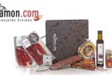San Jamon - Choice of two Iberian ham food hampers - Save 61%
