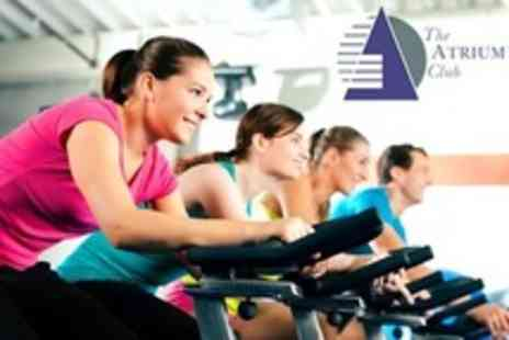 Atrium Club - Ten Gym Passes - Save 50%