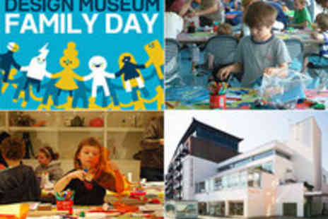Design Museum - Family Day Workshops, Activities and Tours - Save 50%