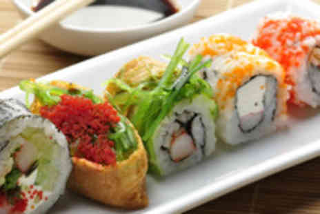 OKO Express - Sushi meal including any starter or side, main course and a drink - Save 60%