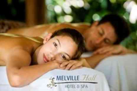 Melville Hall Hotel - One Night Stay For Two With Spa Treatment, Ferry and Breakfast - Save 51%