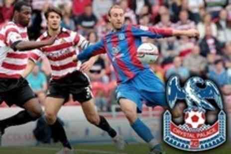 Crystal Palace Football Club - Two Crystal Palace Football Club v Burnley FC - Save 58%