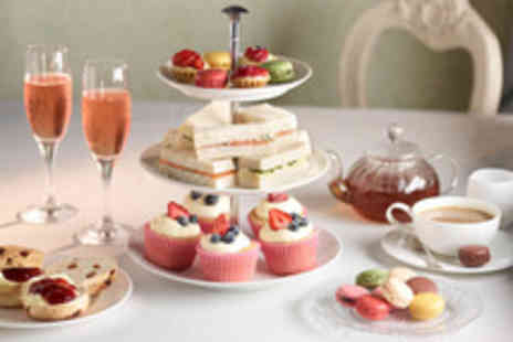 Grand Central Hotel - Afternoon tea for 2 inc prosecco, scones, pastries, tea & coffee - Save 53%
