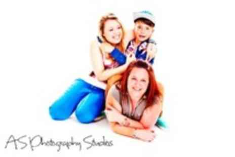 A.S Photography Studios - Family Photoshoot With Print and Image CD - Save 91%