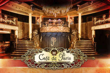 Cafe de Paris - Two tickets to the wonderfully opulent  La Reve - Save 54%