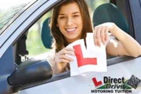 DirectDrive Motoring Tuition - Three Hours of Driving Tuition - Save 30%