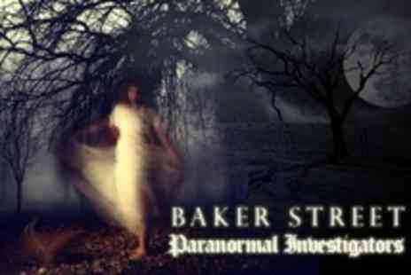Baker Street Paranormal Investigators - Halloween Evening With Buffet For One People - Save 65%