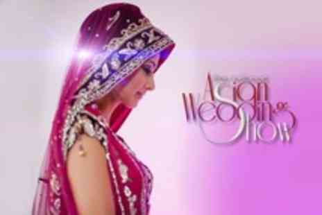 The National Asian Wedding Show - Two Tickets for Wedding Show - Save 60%