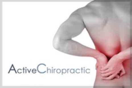 Active Chiropractic - Two Chiropractic Treatments With Consultation - Save 80%
